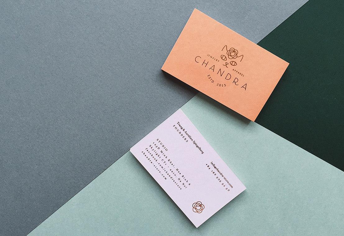 minimalist özel kartvizitleri