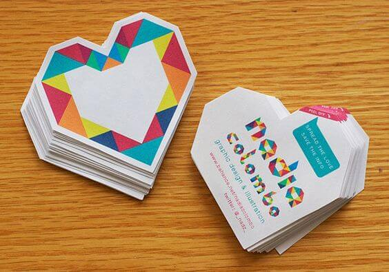 özel kesim kartvizit baskı tasarımları