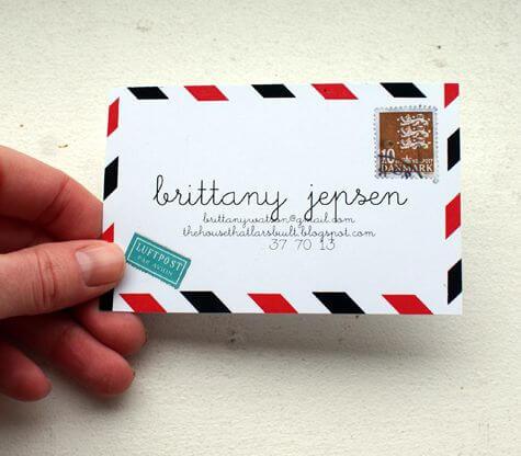 lüks özel tasarım turizm kartvizit tasarımları