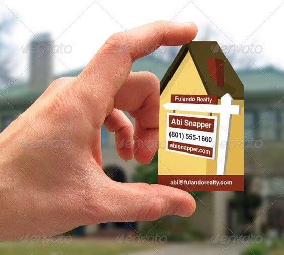 kartvizit örnekleri emlak ve inşaat sektörü