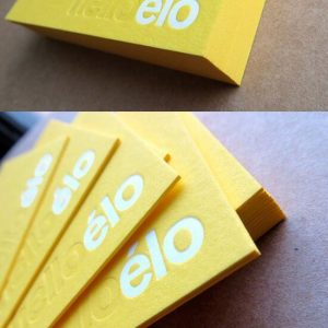 letterpress tipo lüks kartvizit
