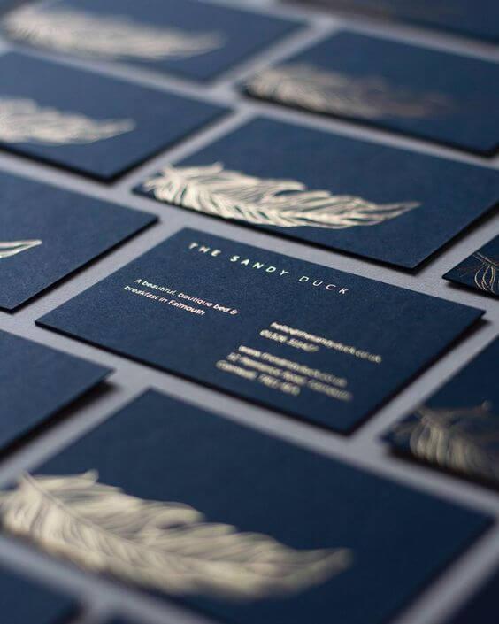 özel lüx varak yaldızlı kartvizitler