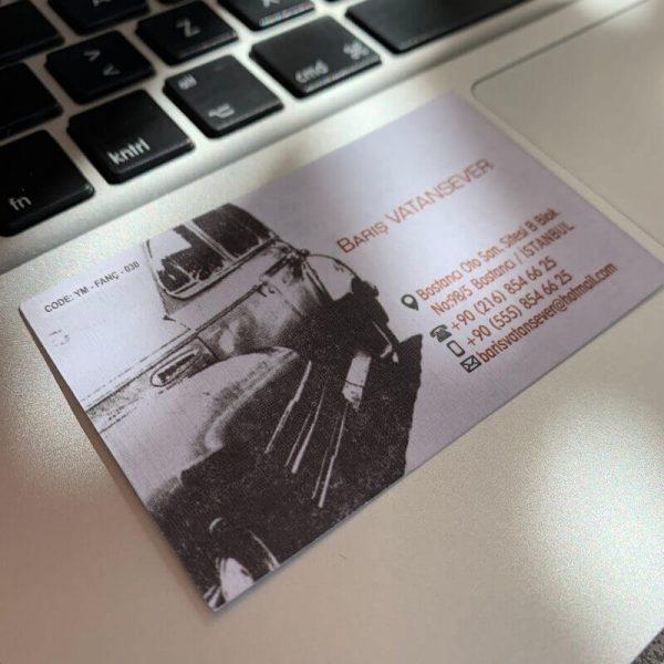 uygun ve ekonomik çift taraflı kartvizit