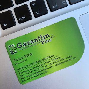 laklı kurumsal firmalara özel kartvizit