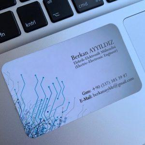 laklı özel mühendis kartvizit