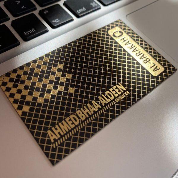 dekorasyon özel lüks kartvizit altın yaldız