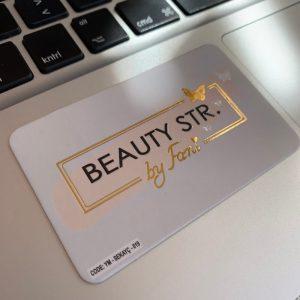varak yaldız lüks özel kartvizit güzellik