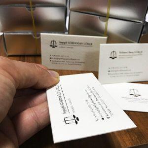 özel avukat kartvizit üretimi