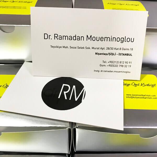 özel kartvizit üretimi doktorlar için